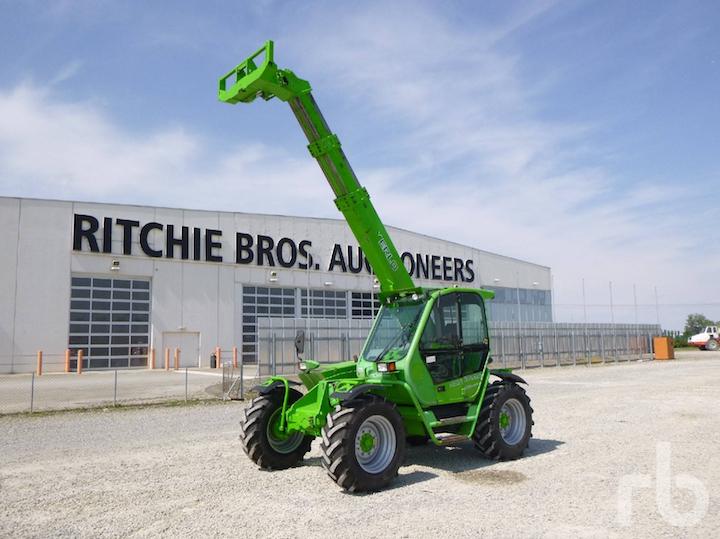 Merlo MF30.9CL2,immatricolato come mezzo agricolo, nella sede di Ritchie Bros Italia