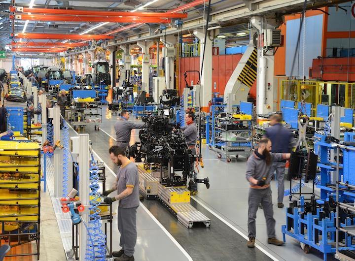 Linea Automated Guided Vehicles (AGV) a Treviglio