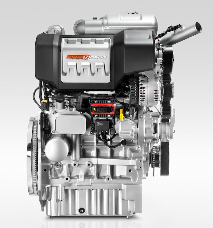 Motore FARMotion Stage V con EGR e DOC installatonella parte superiore