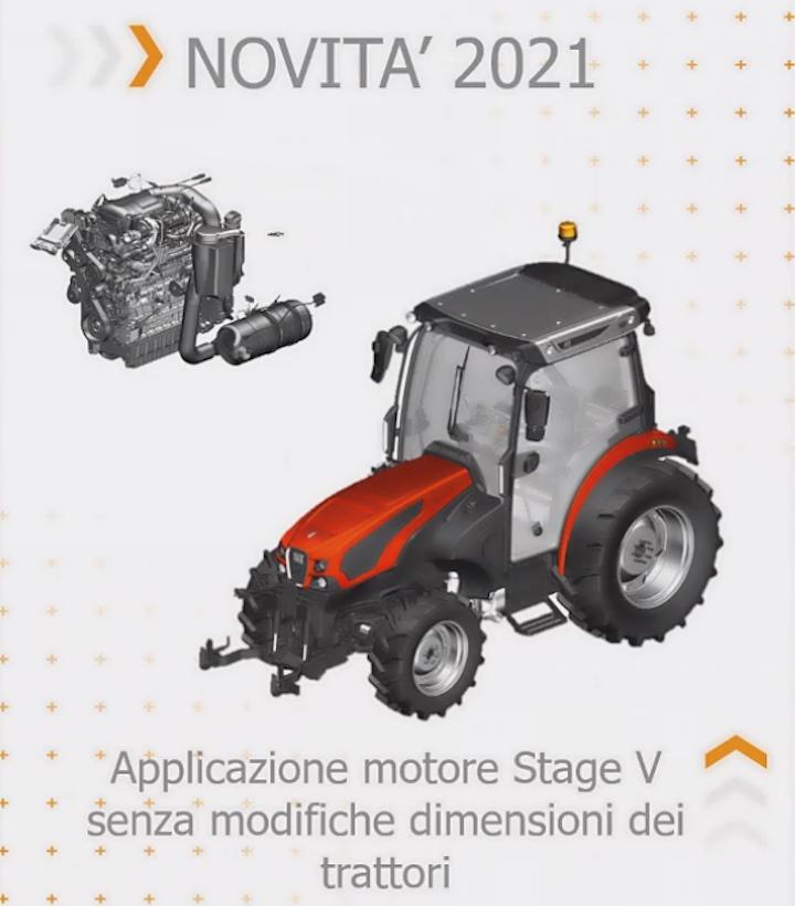 SDF lancerà trattori specializzati Stage V nel 2021