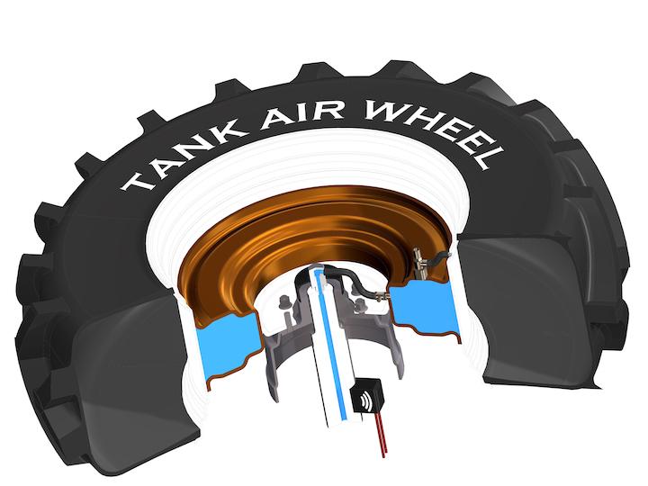 Tank Air Wheel di Sodjantes_Medaglia d'argento al Sima 2019