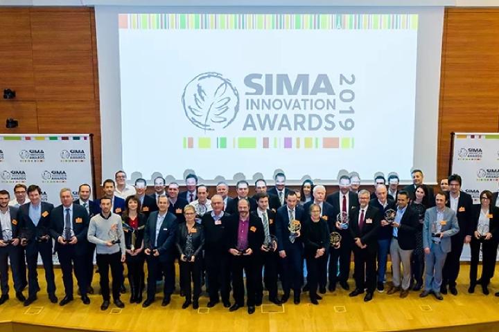 La presentazione dei vincitori del Sima Innovation Award 2019