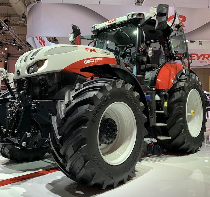 Absolut 6240 CVT Steyr Agritechnica 2019
