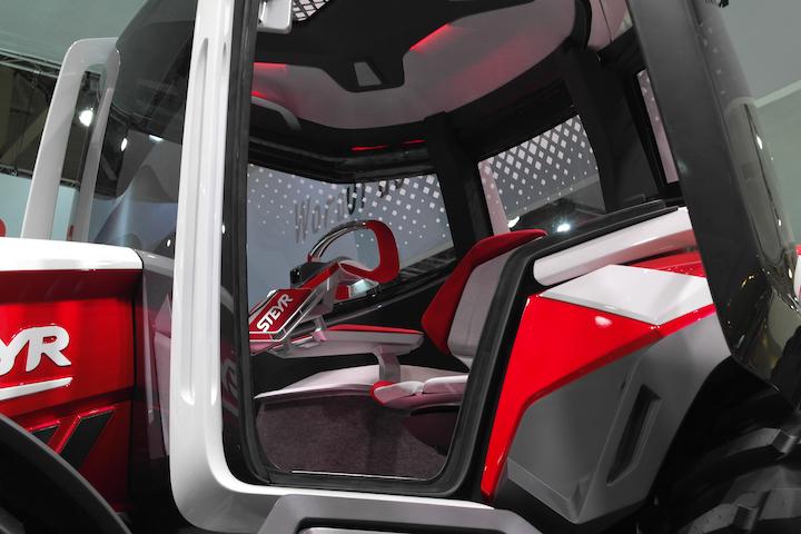Cabina del prototipo Steyr Konzept