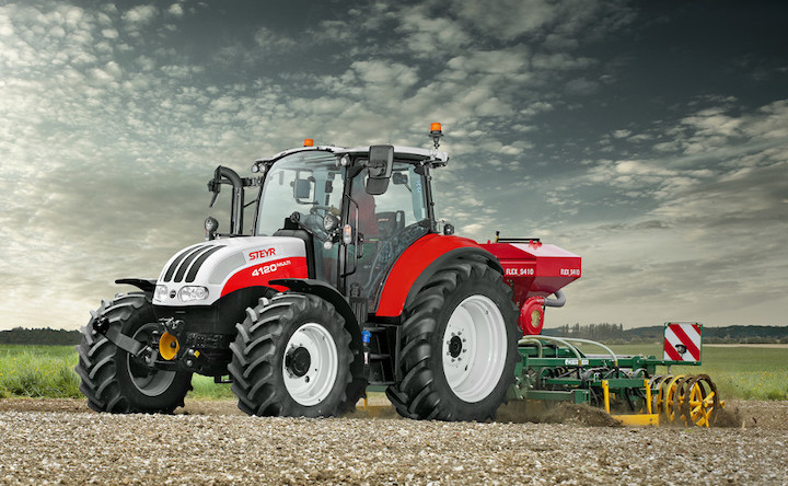 Steyr 4120 Multi con motore FPT Stage V