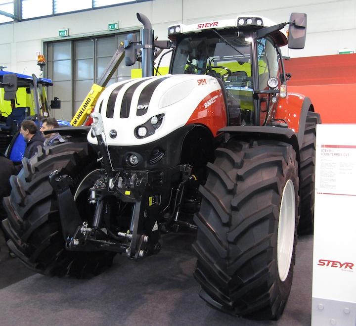 Steyr 6300 Terrus CVT a Fieragricola 2020