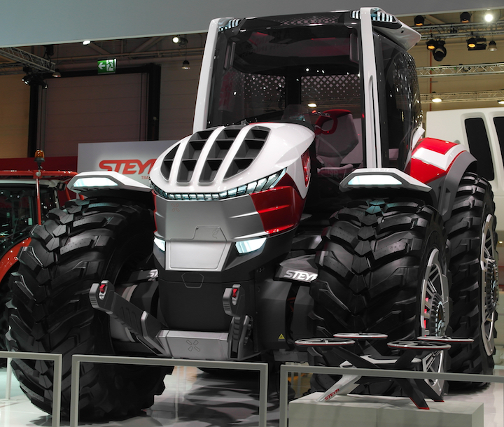 Steyr Konzept in mostra ad Agritechnica 2019