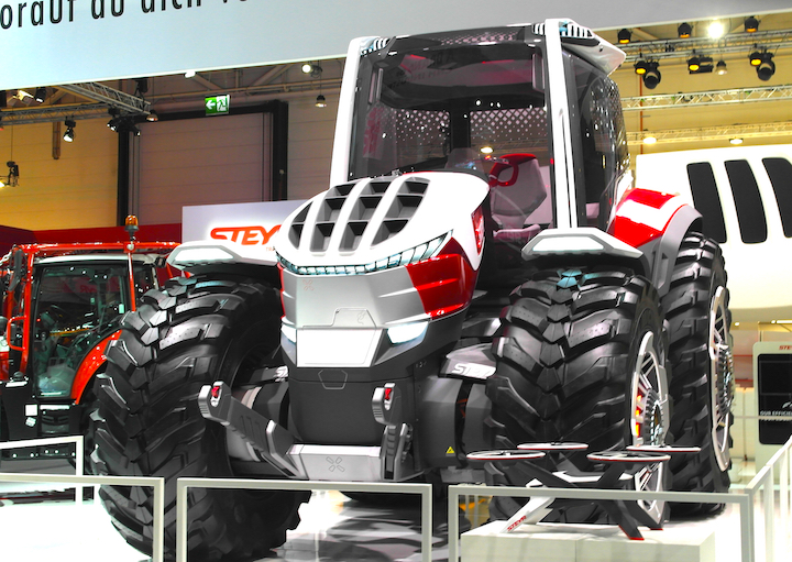 Steyr Konzept ad Agritechnica 2019