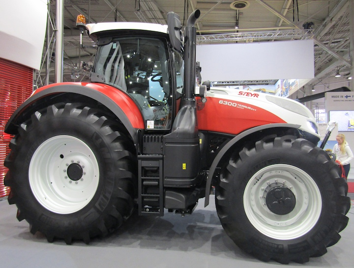 Steyr Terrus CVT 6300 special edition ad Agritechnica 2017