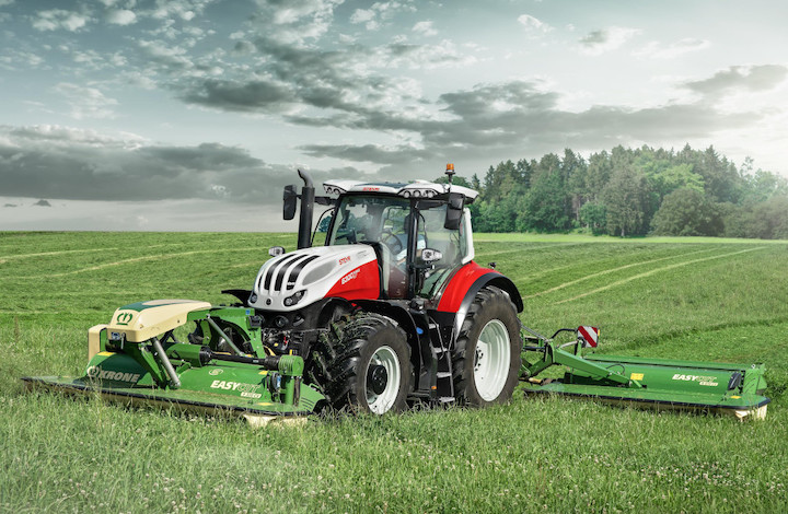 Nuovo Steyr 6300 Terrus CVT in campo