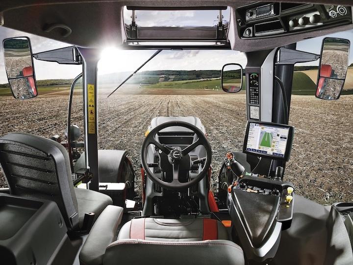 Impuls CVT cabina interno Steyr