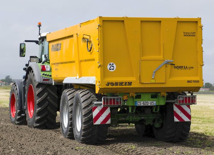 Michelin TrailXBib per rimorchi agricoli