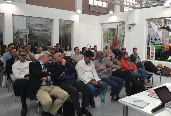 Un momento del convegno di Unacma ad Agrilevante 2019