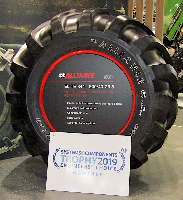 Pneumatico forestale Alliance Forestar 344 ELIT di Alliance Tire