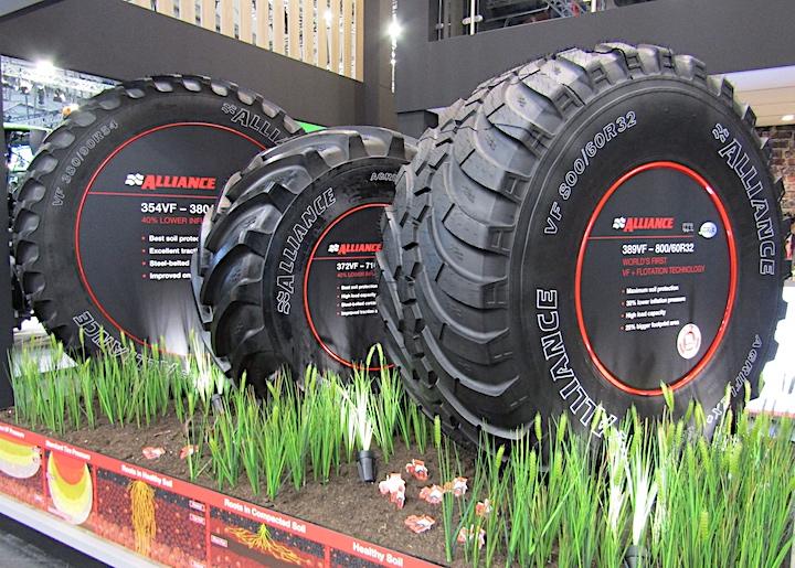 Pneumatici Alliance in mostra nello stand ATG ad Agritechnica 2019