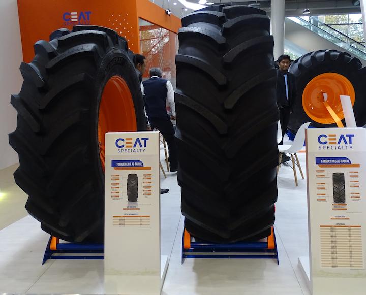 Pneumatici radiali TorqueMax e FarMax di Ceat ad Agritechnica 2019