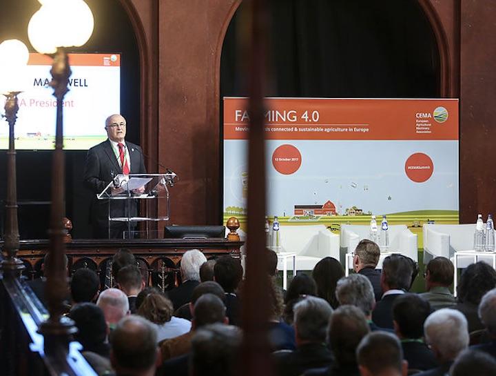 Richard Markwell, presidente del Cema, al Cema Summit 2017
