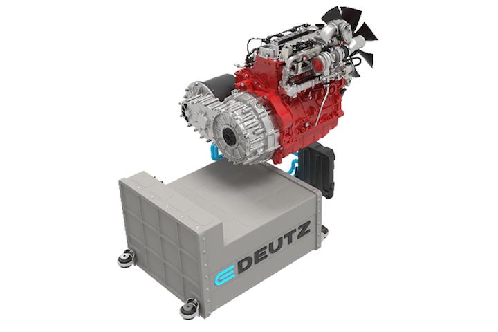 E-Deutz, sistema di propulsione ibrido e completamente elettrico