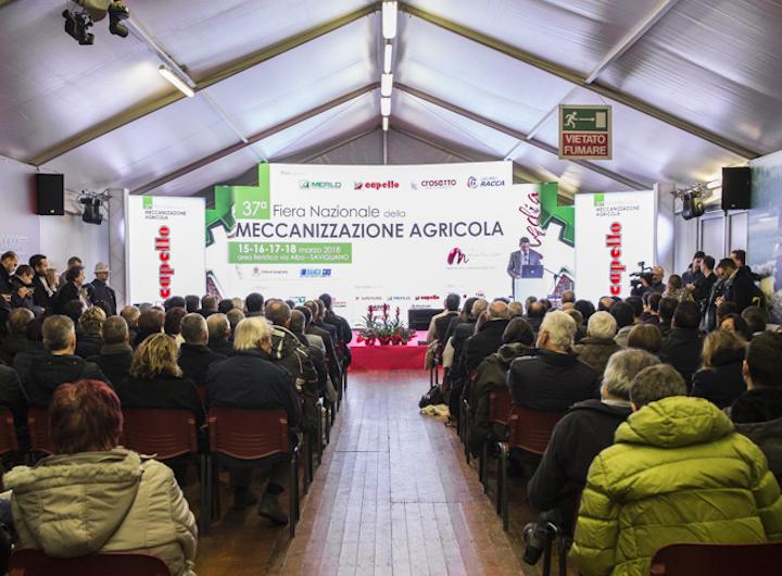Cerimonia inaugurale della Fiera di Savigliano 2018 (Fonte foto: © Stefano Ursida)