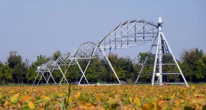 Sistema irriguo ad ali articolate di Irrigazione Veneta