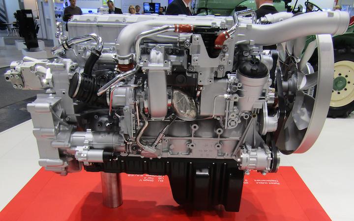 Motore Man Engines D1556 da 6 cilindri e da 9 litri