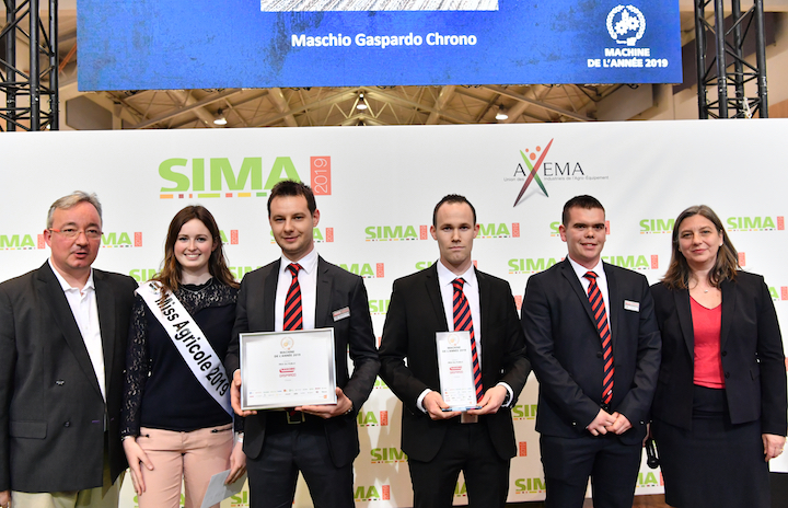 Premio del Pubblico del Machine of the Year 2019 a Maschio Gaspardo