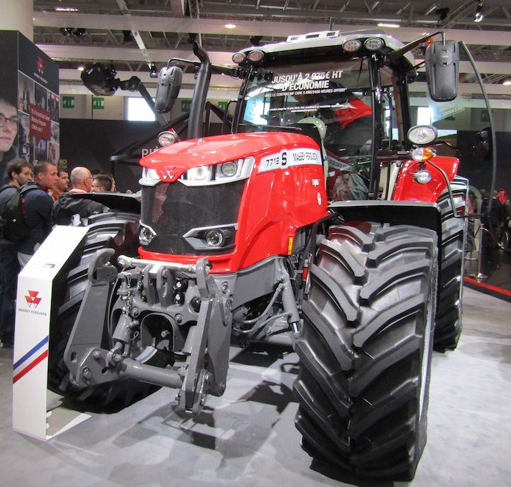 Massey Ferguson 7719 S, vincitore del Machine of the Year 2019 nella categoria Trattori L