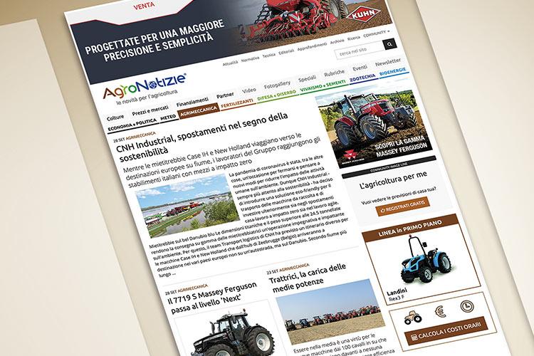 La nuova sezione di Agrimeccanica su AgroNotizie
