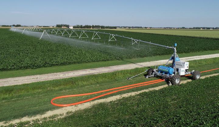 Irrigatore ad ala piovana Ocmis Irrigazione tra le Novità Tecniche 2018