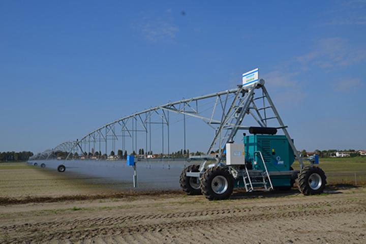 Sistema ad ali articolare lineare di Ocmis Irrigazione