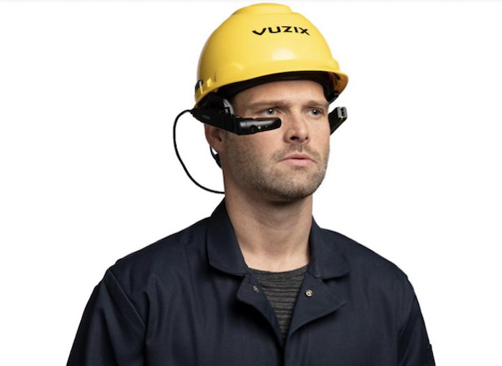 Smart glasses monoculari di Vuzix (Fonte foto: Vuzix)