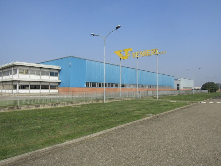 Uno degli stabilimenti di Venieri a Lugo, in provincia di Ravenna