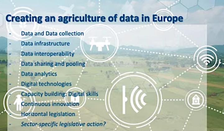 L'Ue punta alla creazione di un'agricoltura dei dati in Europa