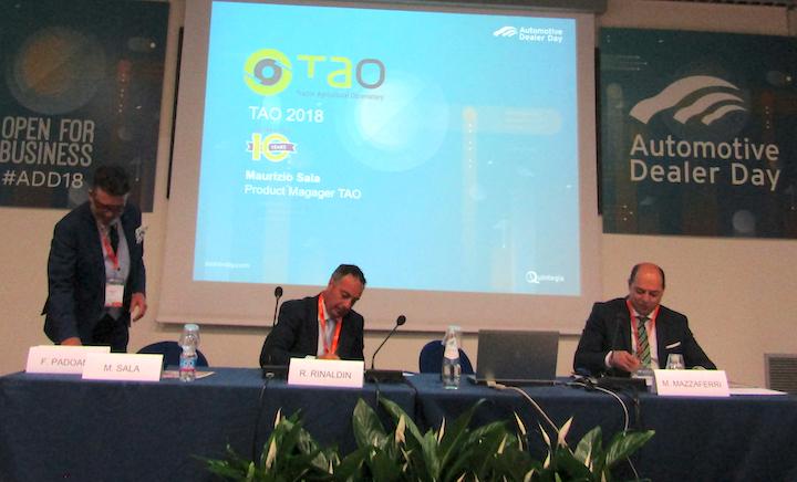 Da sinistra: Maurizio Sala, Roberto Rinaldin e Marco Mazzaferri al Tao 2018