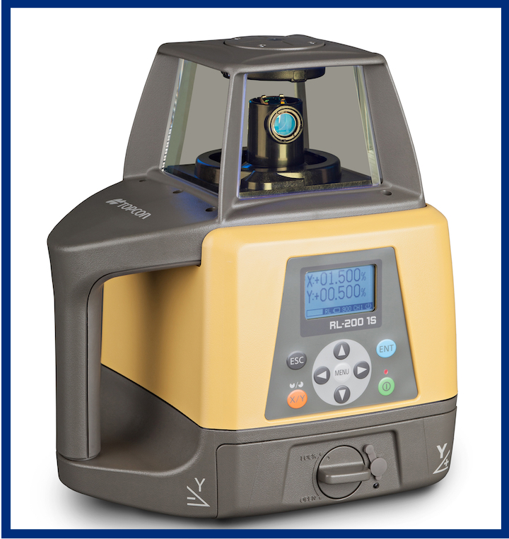Sistema laser livellante Topcon RL 200