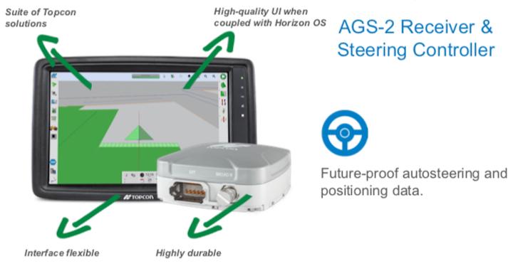 Nuovo ricevitore Topcon AGS-2