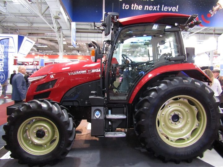 Robot tractor Yanmar YT 5113A ad Agritechnica 2019