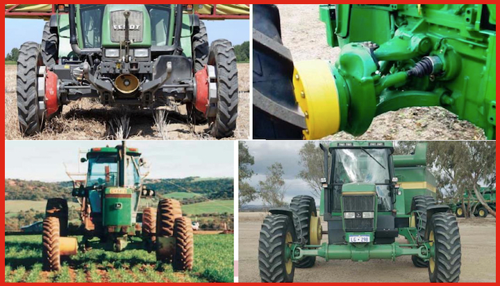 Control Traffic Farming - CTF