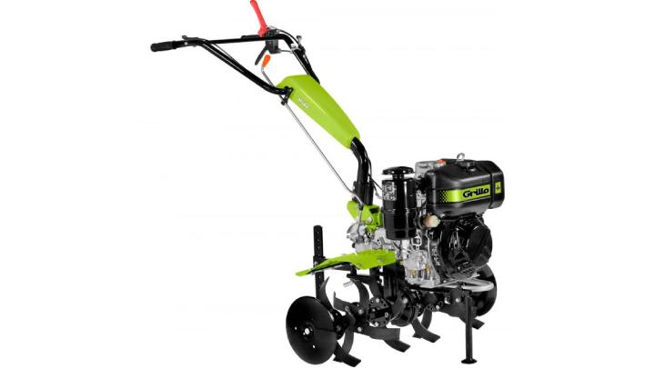 Il Grillo 11500 é ideale per lavorazioni superficiali del terreno, anche in pendenza