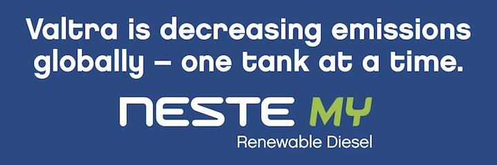 Neste MY Renewable Diesel è il nuovo gasolio rinnovabile scelto da Valtra