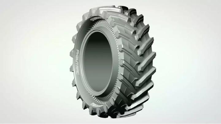Il pneutrack di Trelleborg