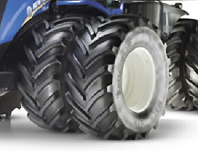 Materiale pubblicitario New Holland
