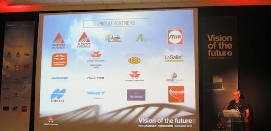 I partner dell'evento Massey Ferguson  - Vision of the future