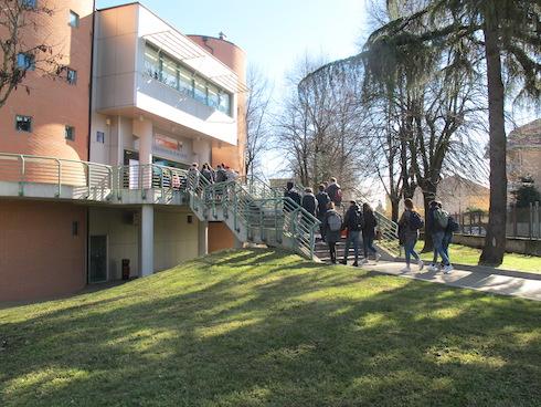 L'ingresso del Campus di Cremona