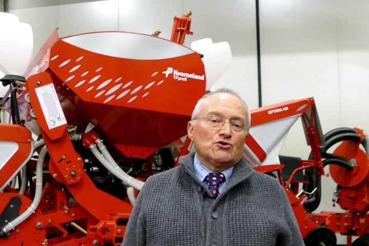 Roberto Bartolini consulente agronomico Kverneland Group Italia