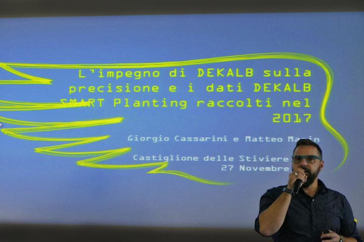 Matteo Masin Technology development lead Dekalb Italia