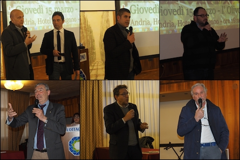 Relatori di Vigna e Olivo 2018 - Andria