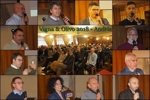 Relatori a Vigna e Olivo 2018 - Andria