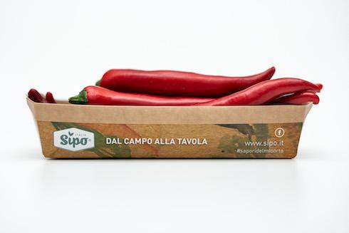 packaging in cartone di Sipo