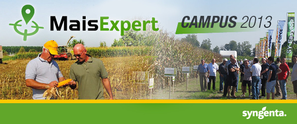Mais Expert - tour Syngenta in campo 2013